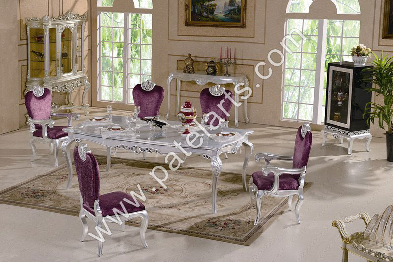 silver dining set, dining table, silver Dining Sets, manufacturers, india, Antique Royal Silver Dining Set, silver Dining Tables, Silver victorian Furniture, sterling Silver Furniture India, exporters, india, german silver furniture india, silver Dining Table Design, silver dining table Chairs, india, royal dining room furnitures, silver furnitures, silver table, silver dinning chairs, suppliers, silver Dining Chairs, silver chairs for dining table, Udaipur, Rajasthan, India
