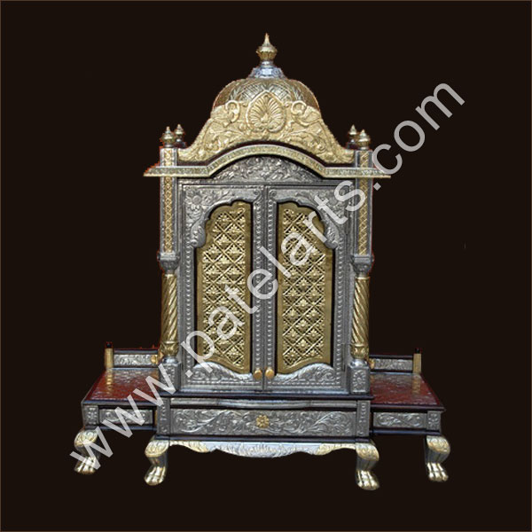 Silver Temple, White Metal Temple, Silver Carved Temples, Meenakari Silver Temple / Mandir, Manufacturers, India, white metal temple, home design, german Silver Temple / Mandir, White Metal Temple, Exporters, India, Indian White Metal Temple, Silver White Metal Temple, Suppliers, Udaipur, Rajasthan, India