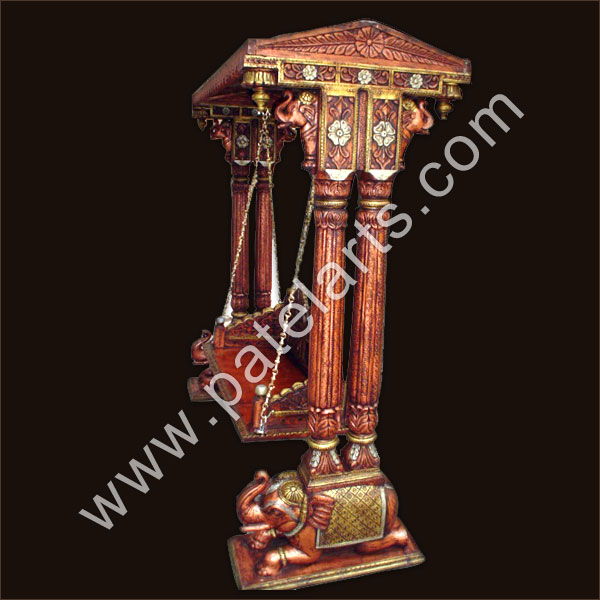 traditional Handcarved Swing, Handcarved Wood Swing, manufacturers,india, Indian traditional swing, exporters,carved swing,wooden swing, swings, Udaipur, rajasthan, india