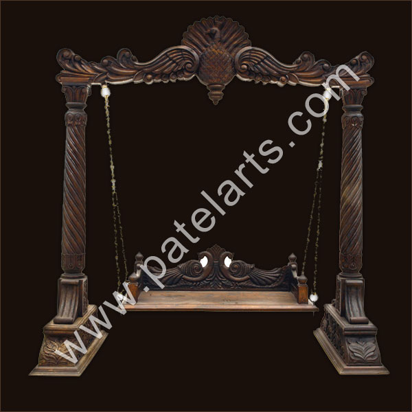 indian style wooden swing, designs,Indian swing designs,india, indian wooden swing designs, exporters, Udaipur, rajasthan, india