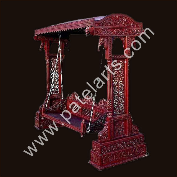 indian carved wooden swing, Indian carved Swings,manufacturers,Carved Swings, Buy Indian carved Swings, Buy Indian Carved Wooden Swings,wooden swings, exporters, Udaipur, rajasthan, india