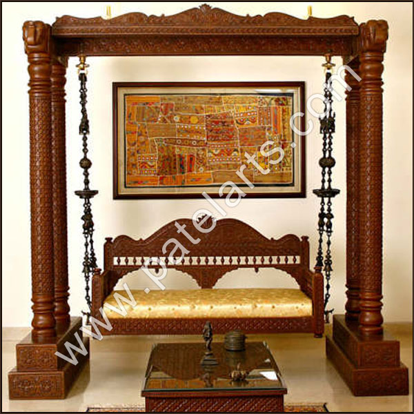 Carved Indian Wooden Swings, carved Indian Swings, Carved Swings, Buy carved Indian Swings, Buy Carved Indian Wooden Swings, Carved Swings, Udaipur, rajasthan, india