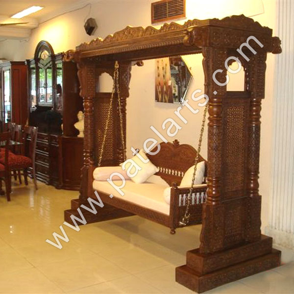 decorative Swing manufacturers, india, decorative Carved Swing, exporters, indian Carved Swing, wooden carved swing,suppliers, Udaipur, rajasthan, india