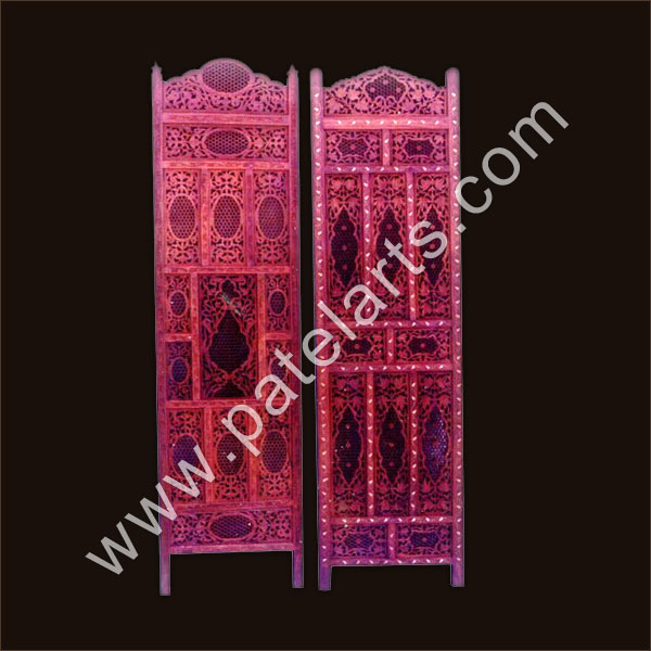 Wooden Screen, Carved Screens, Jali, Traditional Indian Wooden Screen, Jali, Panel Screen, Manufacturers, India