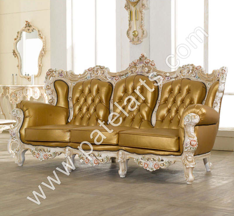 Wooden Sofa Sets, Indian carved Sofa Sets, Carving Wooden Sofa, India, Wooden Carved Sofa Set,  Designer Wooden Sofa Set, Royal Wooden Sofa Set, Luxury Wooden Sofa Set, Decorative Wooden Sofa Set, Antique Wooden Sofa Set