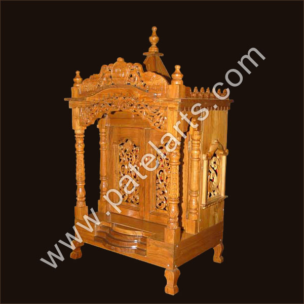 Wooden temples, Wooden carved temples, Wooden mandir, Wooden temples manufacturer, Wooden temples exporters, Udaipur, Rajasthan, India