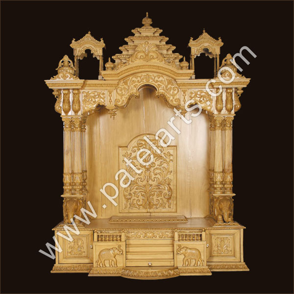 Buy Wooden Mandir Wooden Temple Wooden Home Mandir
